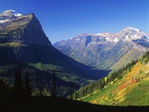 Autumn Near Logan Pass, Glacier National Park, Montana, USA by Adam Jones