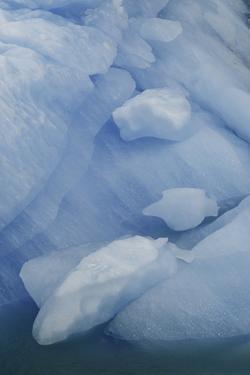 Blue Ice, Perito Moreno Glacier, Los Glaciares National Park, Argentina. by Adam Jones