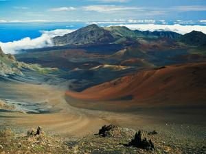 Cinder Cone Crater at Haleakala's Summit, Maui, Hawaii, USA by Adam Jones