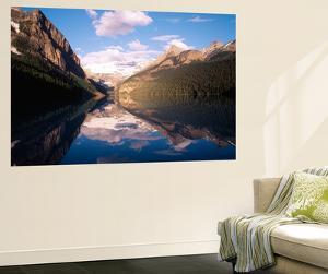 Lake Louise, Mt Victoria, Victoria Glacier, Banff National Park, Alberta, Canada by Adam Jones