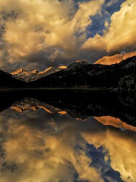 Marsh Lake at sunrise, John Muir Wilderness, Inyo National Forest, California. by Adam Jones