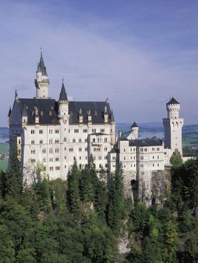 Neuschwanstein Castle, Built by King Ludwig, Fussen, Germany by Adam Jones
