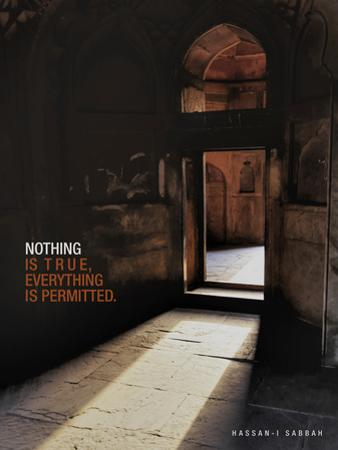 Nothing is True, Everything is Permitted by Adam Jones