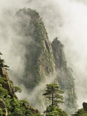 Peaks and Valleys of Grand Canyon in West Sea, Mt. Huang Shan, China by Adam Jones