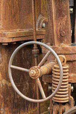 Rusted antique equipment, Columbia River Maritime Museum, Astoria, Oregon by Adam Jones