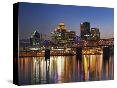 Skyline, Louisville, Kentucky at Dusk by Adam Jones