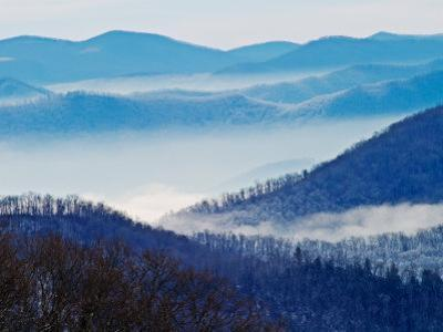 Southern Appalachian Mountains, Great Smoky Mountains National Park, North Carolina, USA by Adam Jones