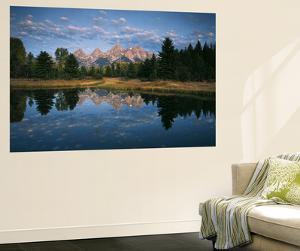 Teton Range and Snake River, Grand Teton National Park, Wyoming, USA by Adam Jones