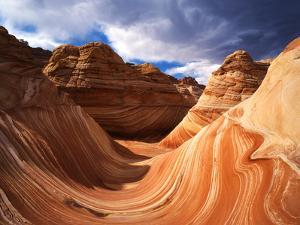 The Wave Formation in Coyote Buttes, Paria Canyon, Arizona, USA by Adam Jones