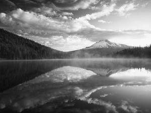 Trillium Lake, Mt Hood National Forest, Mt Hood Wilderness Area, Oregon, USA by Adam Jones