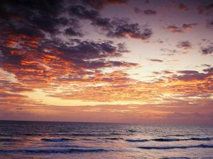 View of Sunrise over Atlantic Ocean, Florida, USA by Adam Jones