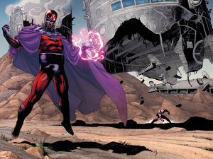 AVX: Vs No.1: Magneto by Adam Kubert