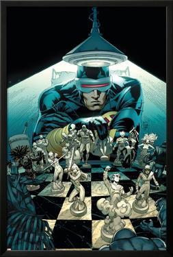 New Mutants No.10 Cover: Cyclops by Adam Kubert