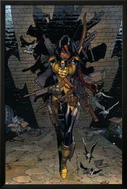 New Mutants No.3 Cover: Moonstar by Adam Kubert