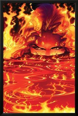New Mutants No.8 Cover: Magma by Adam Kubert