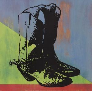 Cowboy Boots by Adam Lewis