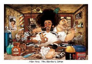 The Barber's Shop by Adam Perez