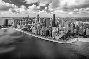 Chicago Gold Coast Panoramic by Adam Romanowicz