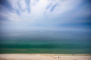 Hazy Day at Sleeping Bear Dunes by Adam Romanowicz