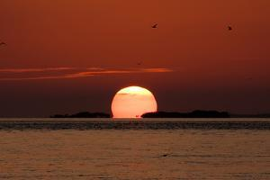 Sunset Over the Keys by Adam Romanowicz