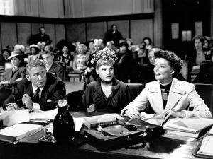 ADAM'S RIB, 1949 directed by GEORGE CUKOR with Spencer Tracy, Judy Holliday and Katharine Hepburn (