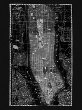 NY Map Circa 1865 by Adam Shaw