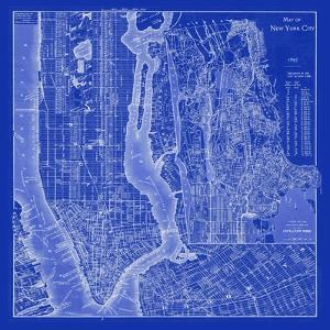 NYC Blueprint by Adam Shaw