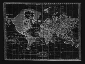 Vintage World Chart by Adam Shaw