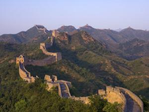 The Great Wall, Near Jing Hang Ling, Unesco World Heritage Site, Beijing, China by Adam Tall