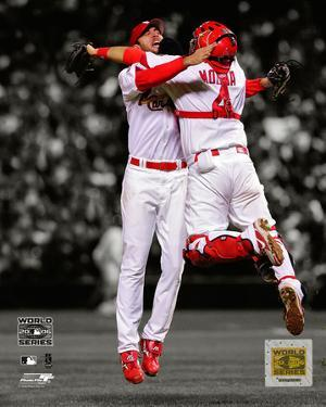 Adam Wainwright & Yadier Molina Game 5 of the 2006 World Series Spotlight