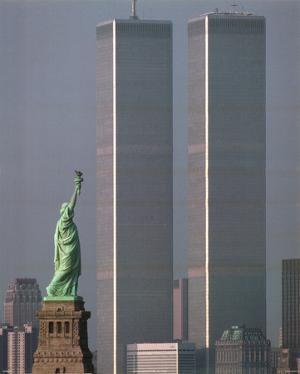 America Stands Tall by Adam Woolfitt