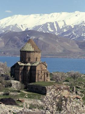 Armenian Church of Holy Cross, Akdamar Island, Lake Van, Anatolia, Turkey by Adam Woolfitt