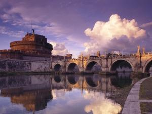 Bridge of Angels and Castello San Angelo, Rome, Italy by Adam Woolfitt