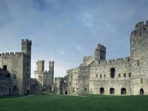 Caernarfon (Caernarvon) Castle, Unesco World Heritage Site, Gwynedd, Wales, United Kingdom by Adam Woolfitt
