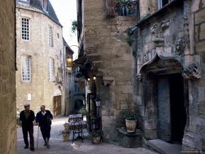 Cahors, Lot Valley, Perigord, Midi-Pyrenees, France by Adam Woolfitt