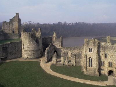Chepstow Castle, Wales, United Kingdom