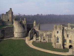 Chepstow Castle, Wales, United Kingdom by Adam Woolfitt