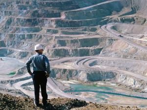 Copper Mining by Adam Woolfitt