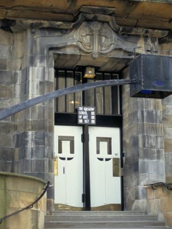 Glasgow School of Art, Designed by Charles Rennie Macintosh, Glasgow, Scotland by Adam Woolfitt