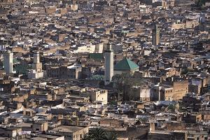 Medina, Fez, Morocco by Adam Woolfitt