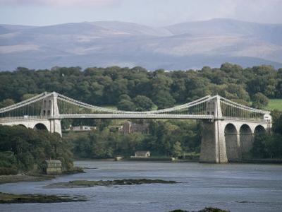 Menai Bridge, Wales, United Kingdom by Adam Woolfitt