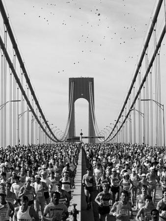 Runners, Marathon, New York, New York State, USA