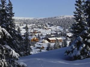 Sjusjoen, Norway, Scandinavia by Adam Woolfitt