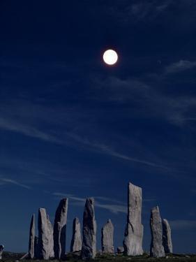 Standing Stones, Callanish, Isle of Lewis, Outer Hebrides, Scotland, United Kingdom by Adam Woolfitt