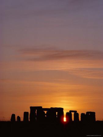 Stonehenge, Salisbury Plain, England, UK by Adam Woolfitt