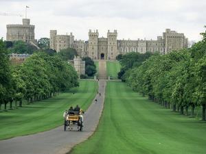 The Long Walk and Windsor Castle, Windsor, Berkshire, England, United Kingdom by Adam Woolfitt