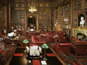 The Lords Library, Houses of Parliament, Westminster, London, England, United Kingdom by Adam Woolfitt