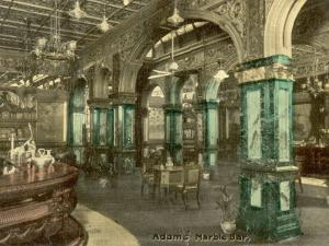 Adams Marble Bar, Sydney, New South Wales, Australia in 1908