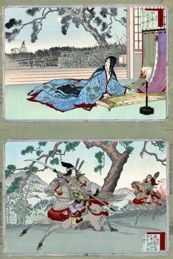 Tomoe Gozen (1157-1247) by Adashi Ginko