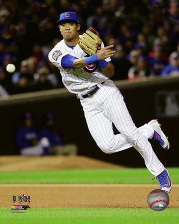 Addison Russell Game 5 of the 2016 World Series